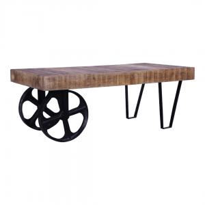 שולחן סלון בסגנון עיצוב תעשייתי