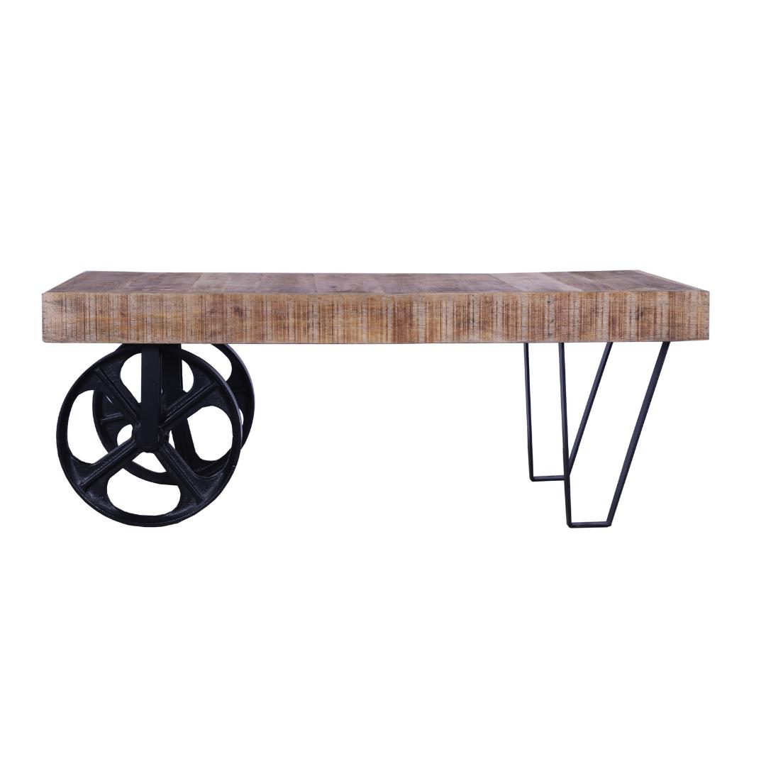 שולחן סלון בעיצוב תעשייתי